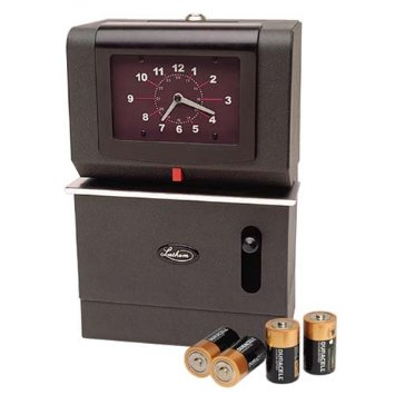 Lathem 2000 Series Battery Powered Time Clock