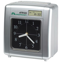 Acroprint ATR120r ELECTRONIC TIME CLOCK