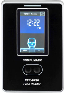 Compumatic CFR-20/20 Biometric Face Reader Facial Recognition Time Clock