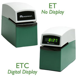 Acroprint ET ETC Heavy Duty Time and Date Document Stamps