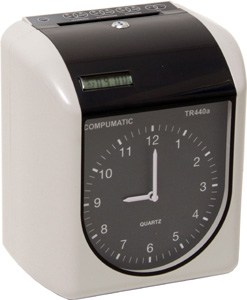 COMPUMATIC TR440a ELECTRONIC TIME CLOCK