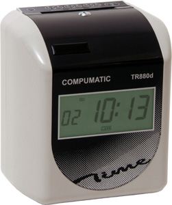 COMPUMATIC TR880d ELECTRONIC TIME CLOCK