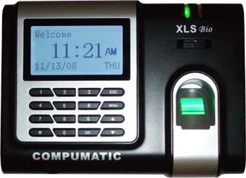 Compumatic Xls Bio Biometric Fingerprint Time Clock Amp Pin